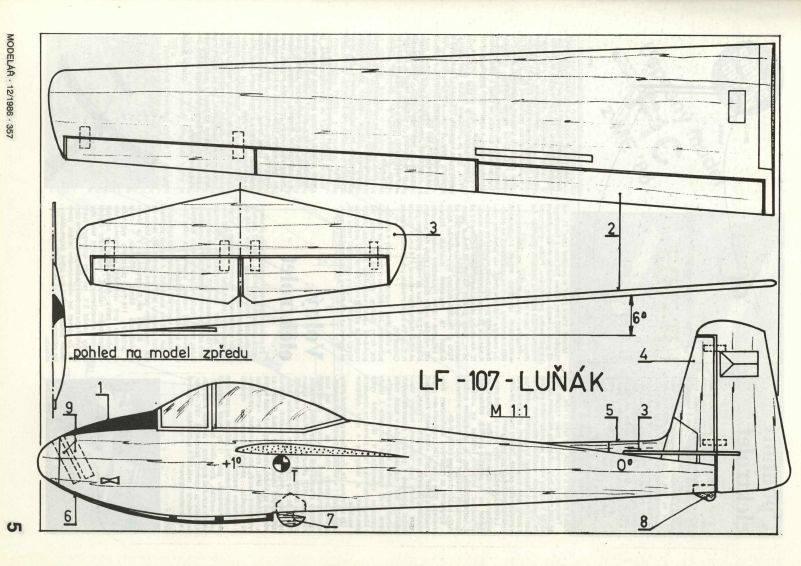 LF-107-lunak- epülőmodell gyerekeknek